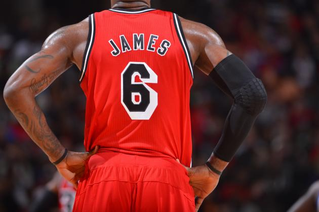 LeBron Is NBA Jersey Leader Again