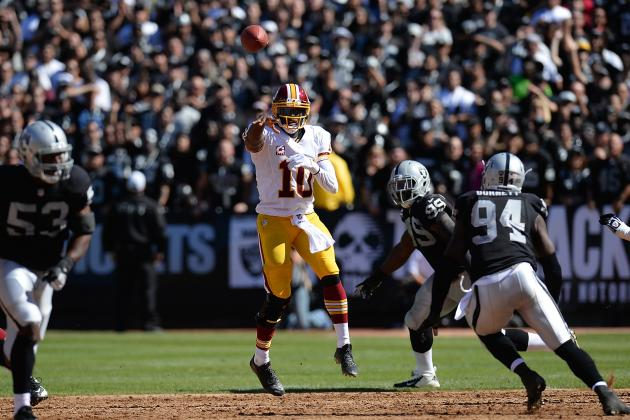Robert Griffin III's Knee Continues to Be Root of His Problems in 2013 Season