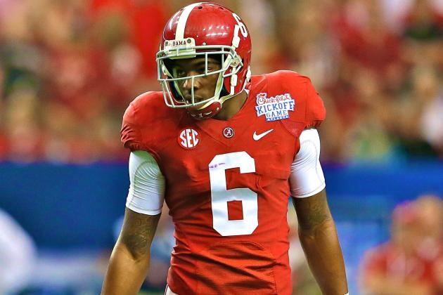 Ha Ha Clinton-Dix Reinstated After Suspension for Alabama Team Rules Violation