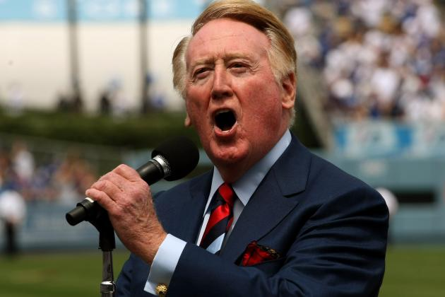 Vin Scully Refutes the Idea That He'll Retire After Next Season
