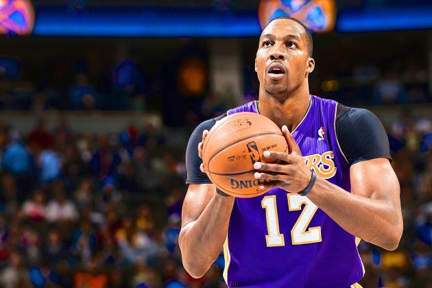 Dwight Howard Says He Might Start Shooting Free Throws with His Eyes Closed