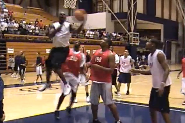Michael Jordan Schools OJ Mayo at 2006 Basketball Camp