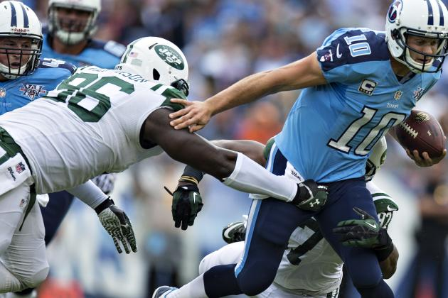 Reports: Coples, Wilkerson Fined for Hit of Jake Locker