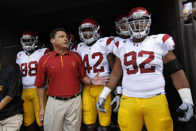 Coach Orgeron Era Officially Begins at USC, Players and Media React