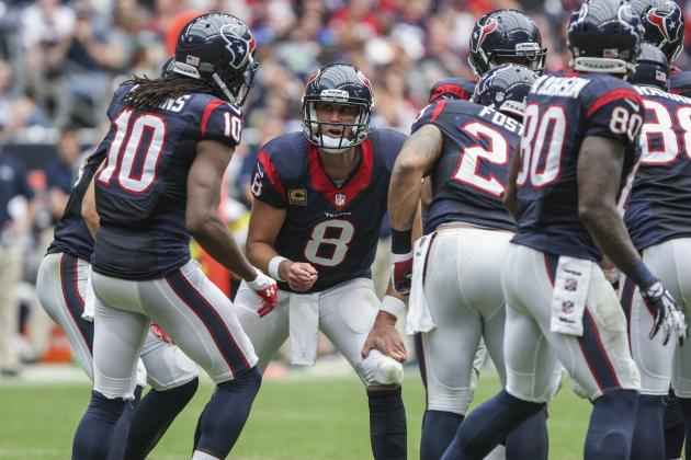 Houston Texans vs. San Francisco 49ers: Breaking Down Houston's Game Plan