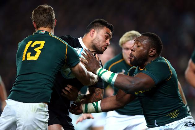 Rugby Championship 2013: TV Schedule and Preview of South Africa vs. New Zealand