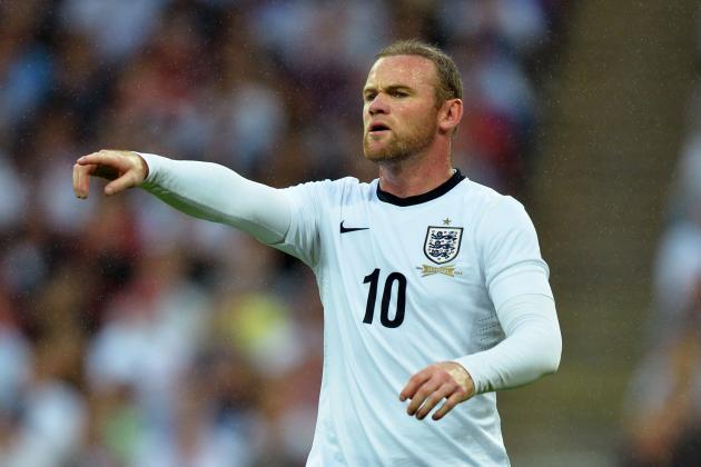 Wayne Rooney and Daniel Sturridge Named in England Squad by Roy Hodgson