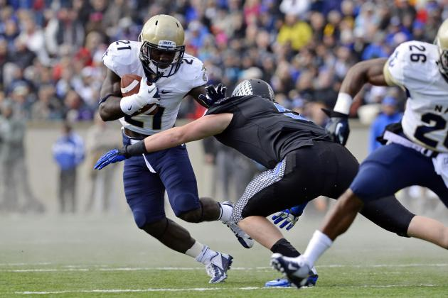 Air Force vs. Navy: Top Storylines to Watch for in Controversial Clash