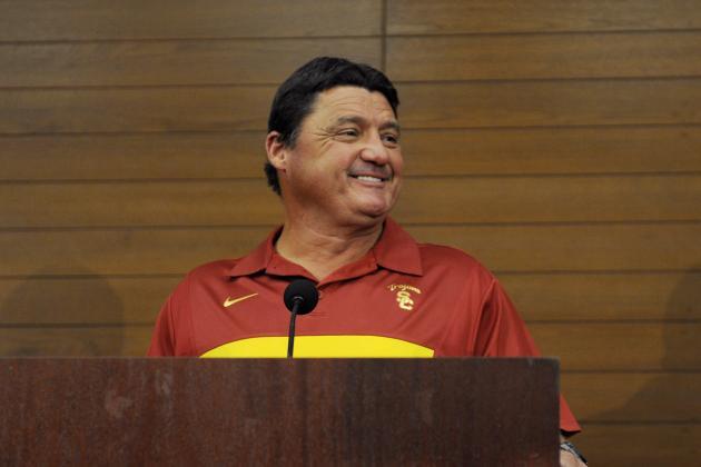 Meet USC's Ed Orgeron: Cajun, Comedian and New Coach of the Trojans