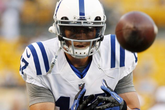 Report: Pats Sign Ex-Colts WR Austin Collie