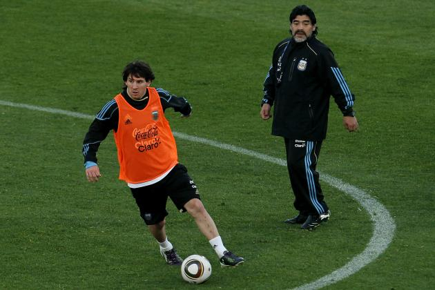 Lionel Messi vs. Diego Maradona: Why the Winner Is Obvious