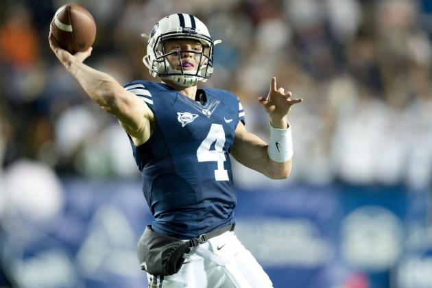 USU a Litmus Test for the BYU Passing Game