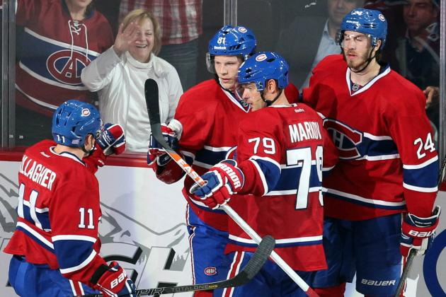 In the Habs Room: Parros May Have Gone Down, but the Team Sees Bright Spots