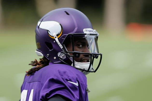 Cordarrelle Patterson's First Month in the NFL Ends with Special Teams Honors
