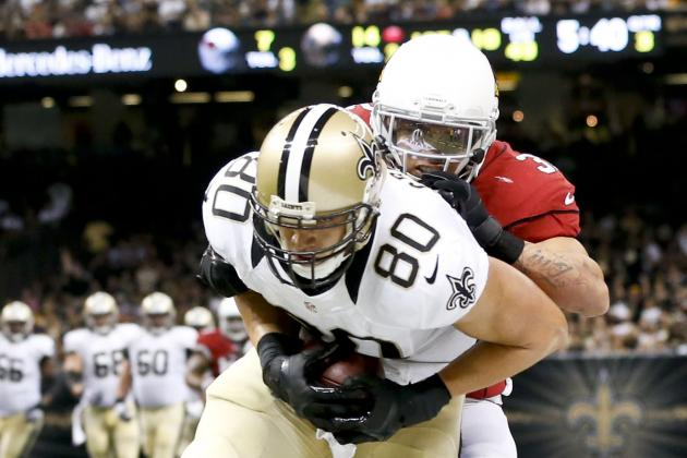 2013 Fantasy Football Week 5 Rankings: Top 20 Tight Ends