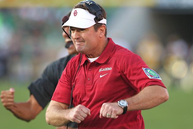 Why Does Bob Stoops Keep Making a Fool of Himself by Ripping the SEC?