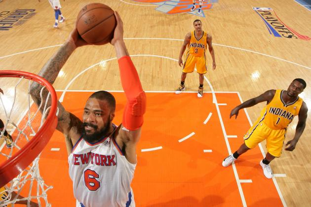 New York Knicks: Why Is Tyson Chandler Practicing His Mid-Range Jumper?