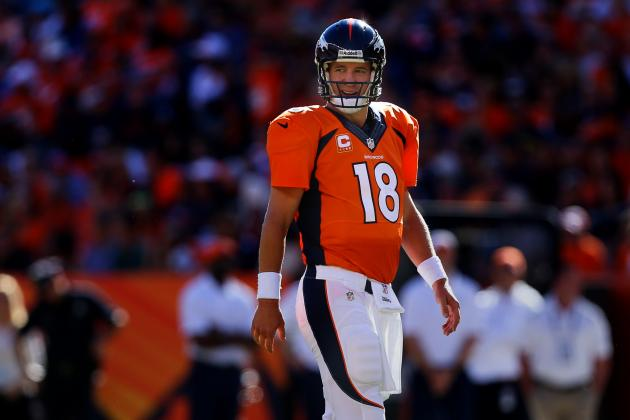 Peyton Manning's September Performance Gets Honored