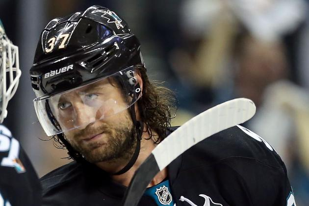 Adam Burish Doubtful for Sharks' Opener