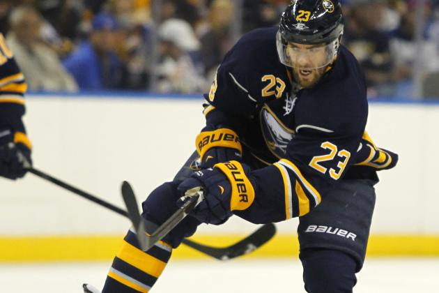 Sabres Leino Cracks a Rib. Foligno Improving