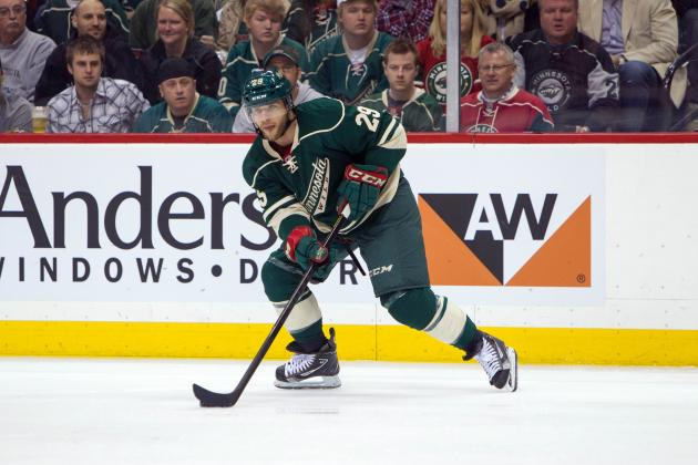 Jason Pominville Gets Five Year Extension from Minnesota Wild