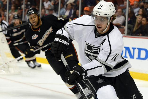 Kings Expect Anze Kopitar to Shake off His Playoff Scoring Woes