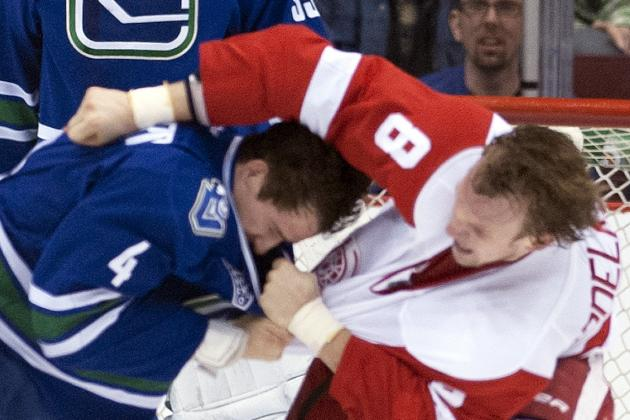 Canucks Want to Keep Fighting in Hockey