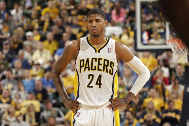 Paul George Has an Idea for How to Improve the NBA 2K14 Cover