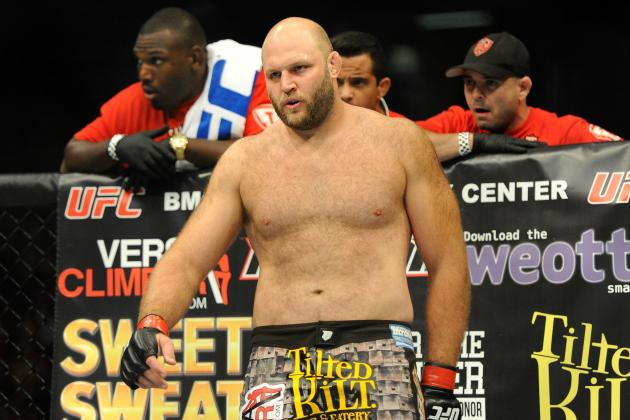 UFC Suspends Heavyweight Ben Rothwell for Elevated Levels of Testosterone