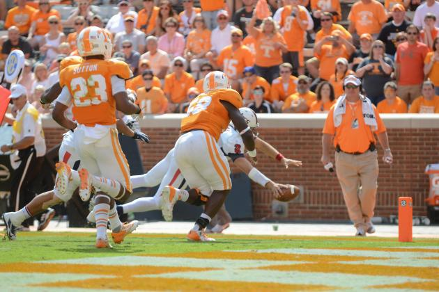 Tennessee Football: Can Vols' Secondary Hang with Aaron Murray?