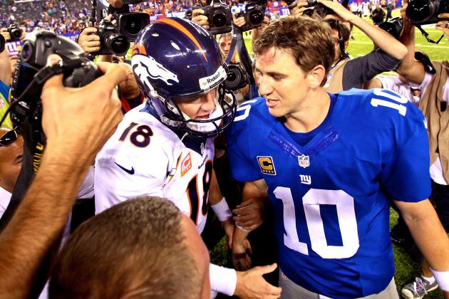 The Best and Worst of the NFL at the Season's Quarter Mark