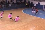 Indoor Soccer Team Choreographs Hilarious Free Kick
