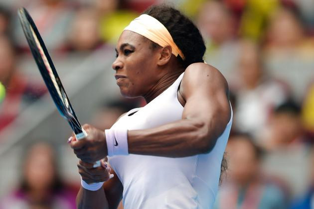 Serena Stumbles Through to Last Eight in China