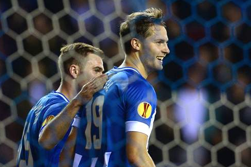 Wigan 3-1 Maribor: Powell Double