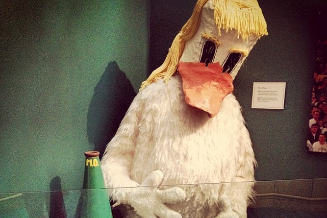 Take a Look at the Oldest Oregon Ducks Football Mascot Still in Existence