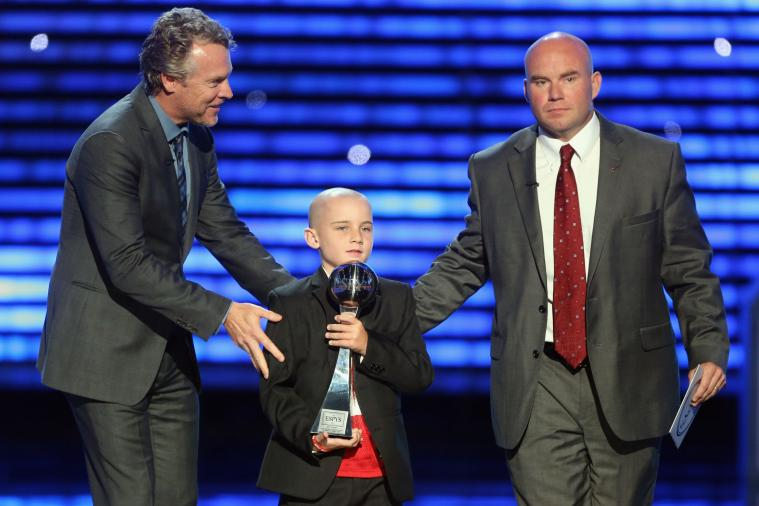 Doctors Declare Jack Hoffman's Cancer Is in Remission