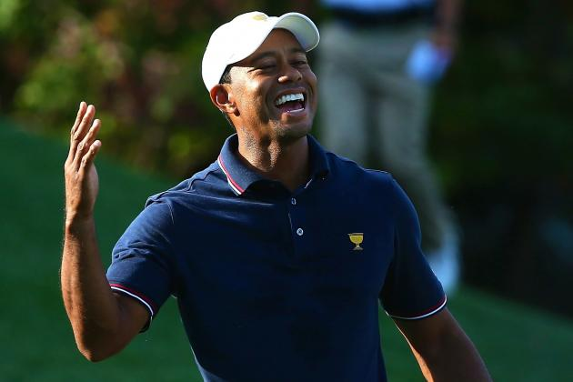 Tiger Woods at Presidents Cup 2013: Day 1 Recap and Twitter Reaction