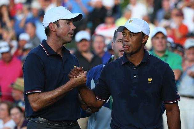 Tiger Woods Presidents Cup 2013: Best in the World Breaks Out of Funk on Day 1