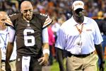 Browns Fear Hoyer Has Torn ACL, to Have MRI Friday