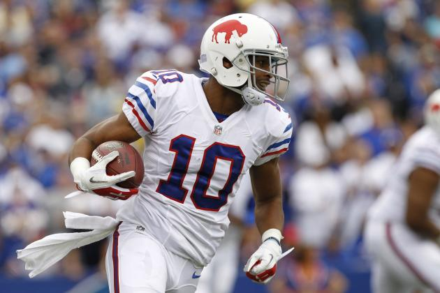 Robert Woods' Updated 2013 Fantasy Outlook After Stevie Johnson Injury