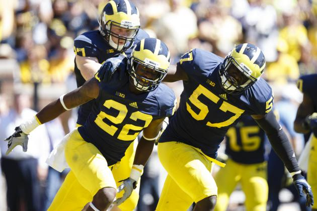 Michigan vs. Minnesota: Can Wolverines Front Seven Stop Gophers' Ground Game?