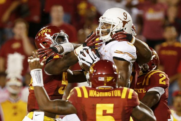 Texas vs. Iowa State: Live Score and Highlights