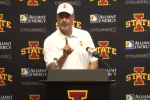 Watch: Iowa Coach Paul Rhoads RIPS Refs After Loss
