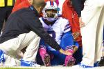EJ Manuel Sprains Knee in Loss