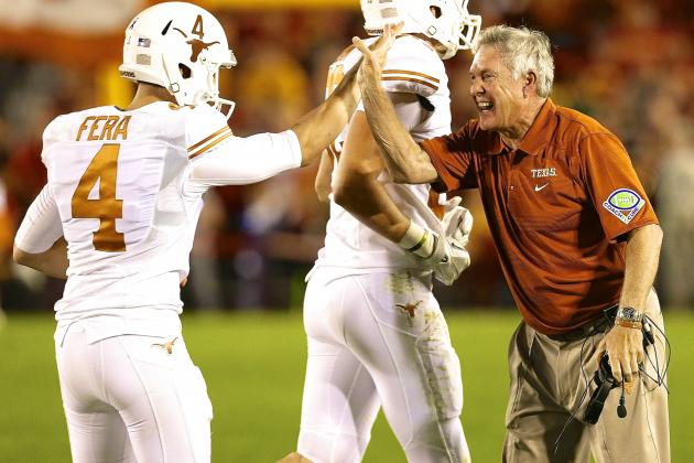 Texas vs. Iowa St: UT Coaches Botch Game Plan, Refs Bail out Mack Brown