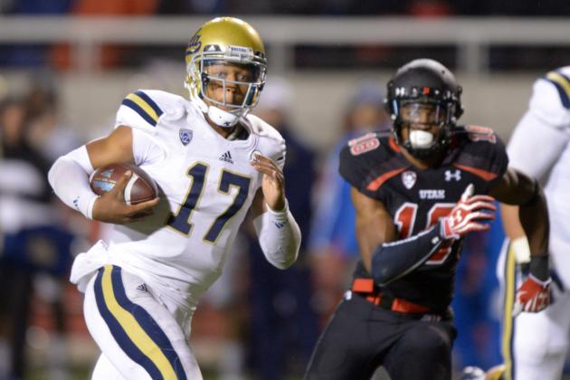 Brett Hundley's Updated 2014 NFL Draft Stock After Win over Utah