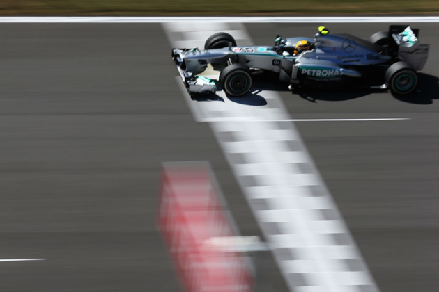 Lewis Hamilton Completes Friday Clean Sweep for Korean GP for Mercedes