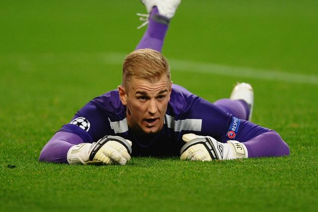 England May Have to Struggle on with Struggling Joe Hart