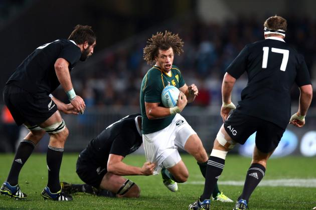 Rugby Championship 2013: Analysing Permutations of South Africa vs. New Zealand