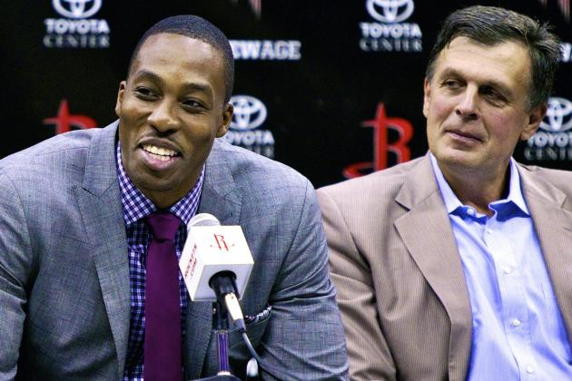 Dwight Howard Feeling at Home with Kevin McHale in Houston